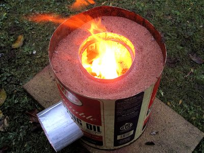 Make Your Own Cheap and Efficient Rocket Stove