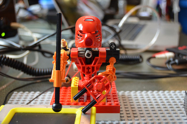 The Toa Mata Arduino-MIDI Robot Percussion Band