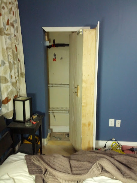 Book Opens DIY Secret Room