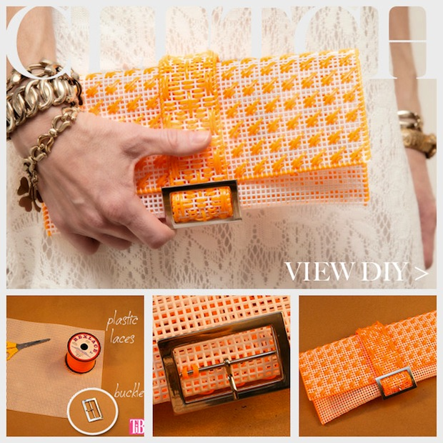How-To: Plastic Canvas Clutch