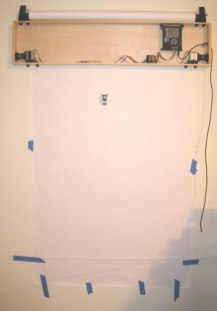 Arduino Powered Wall Drawing Robot
