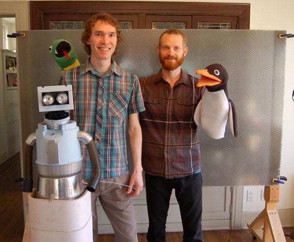Robot Puppet Party at Maker Faire
