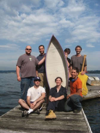The UW student organization for 3D printing is back with a second full-sized 100% recycled milk jug boat.
