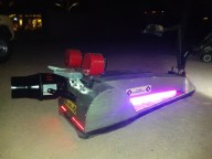 Unique wheelchairs, scooters, BBQ grills robotic ice chest and fire machines!