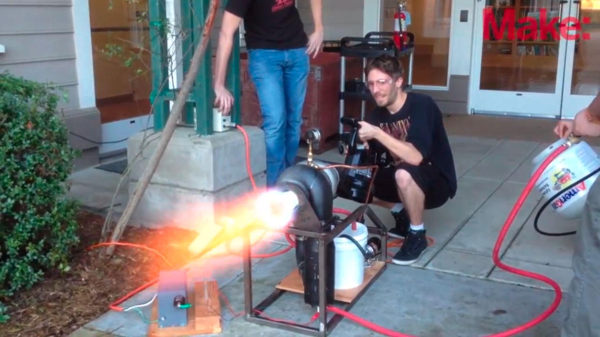 Sneak Peek at the Make: Labs DIY Turbojet Engine Project