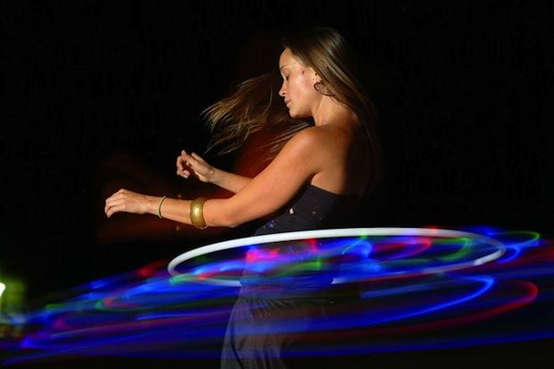 Flashback: LED Hula Hoop