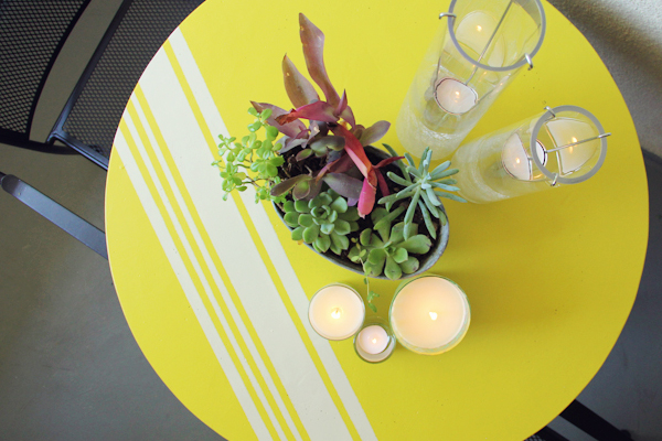 How-To: Modern Patio Table Update
