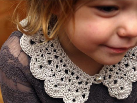 How-To: Crocheted Kids Collar
