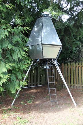 Rocket-Ship Treehouse