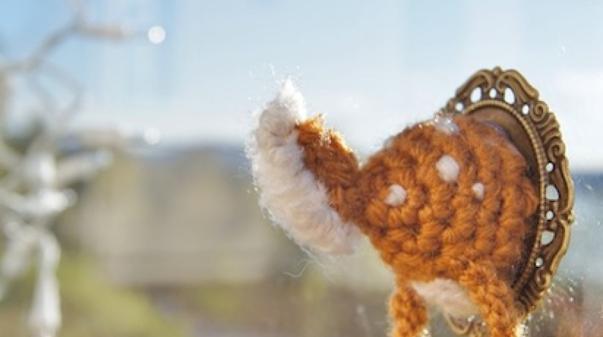 How-To: Crocheted Deer Butt Faux Taxidermy