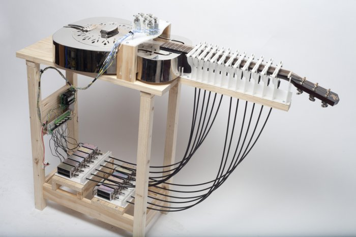 Voice-Activated Instruments at NYC's Clocktower Gallery