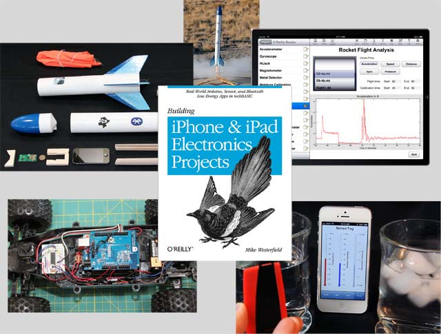 New Early Release Ebook from O'Reilly: Building iPhone and iPad Electronics Projects