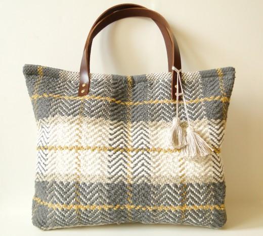 How-To: Farmer's Market Carpet Bag