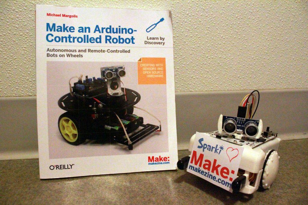Sparki: My New Favorite Robot