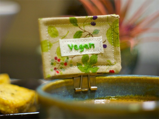 Flashback: Make Vegan Serving Dish and Utensil Tags