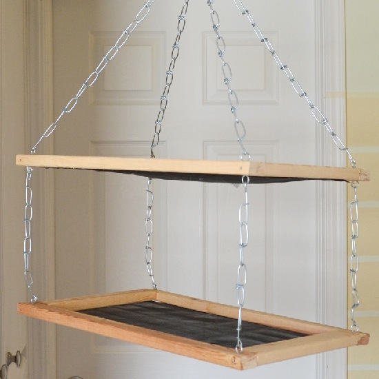 How-To: Hanging Craft Project Drying Rack