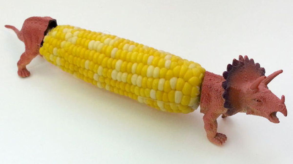 How-To: Dinosaur Corn Cob Holders