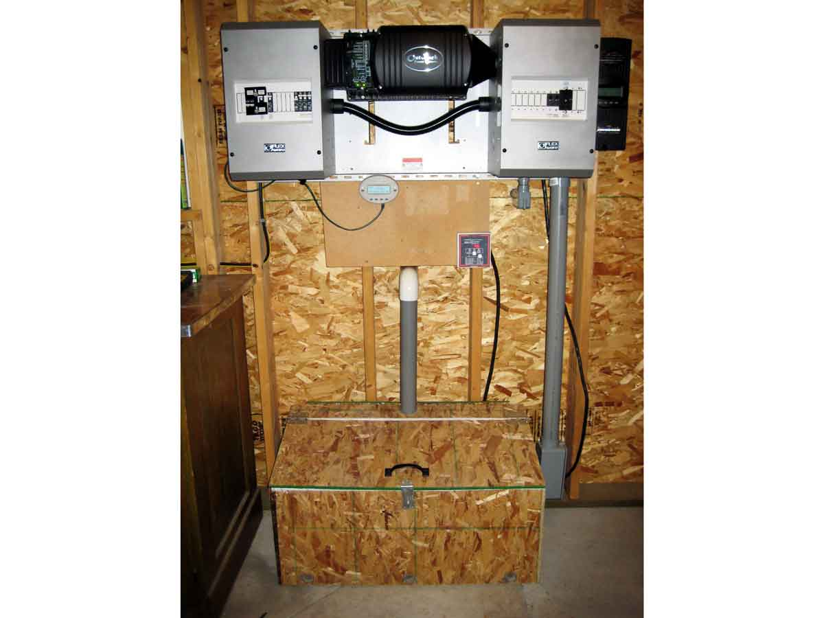 Primer Solar Power System Design Make Step 11 The Final Product Charge Controller