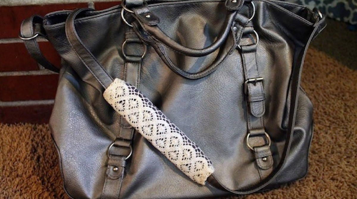 How-To: Purse Strap Cushion