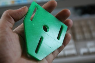 One of the printed parts