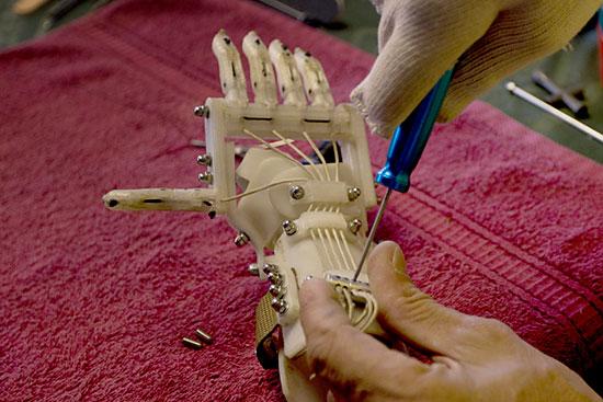 Crowdsourcing Prosthetics