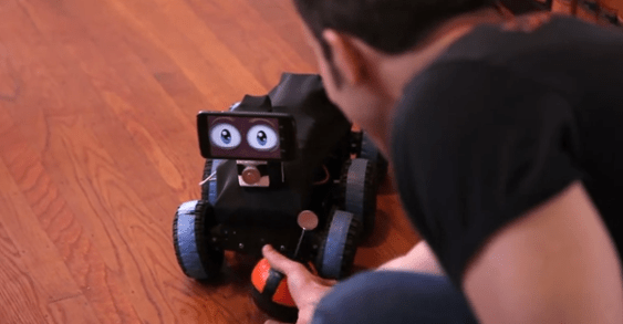 Introducing the Fenn, a Touchy-Feely Robot