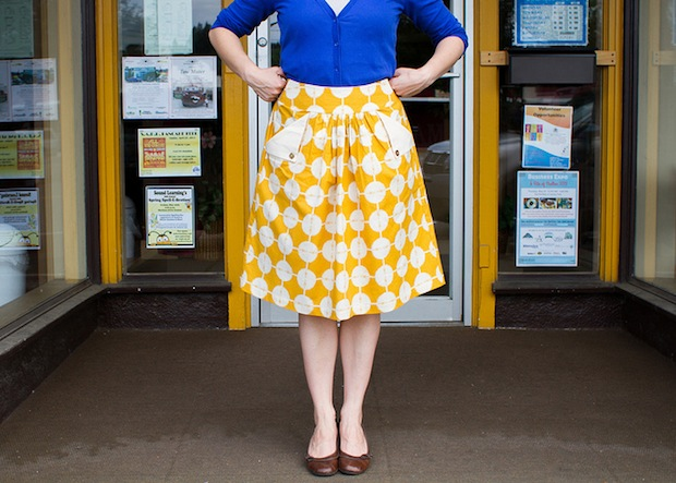 How-To: Add Flap Pockets to a Skirt