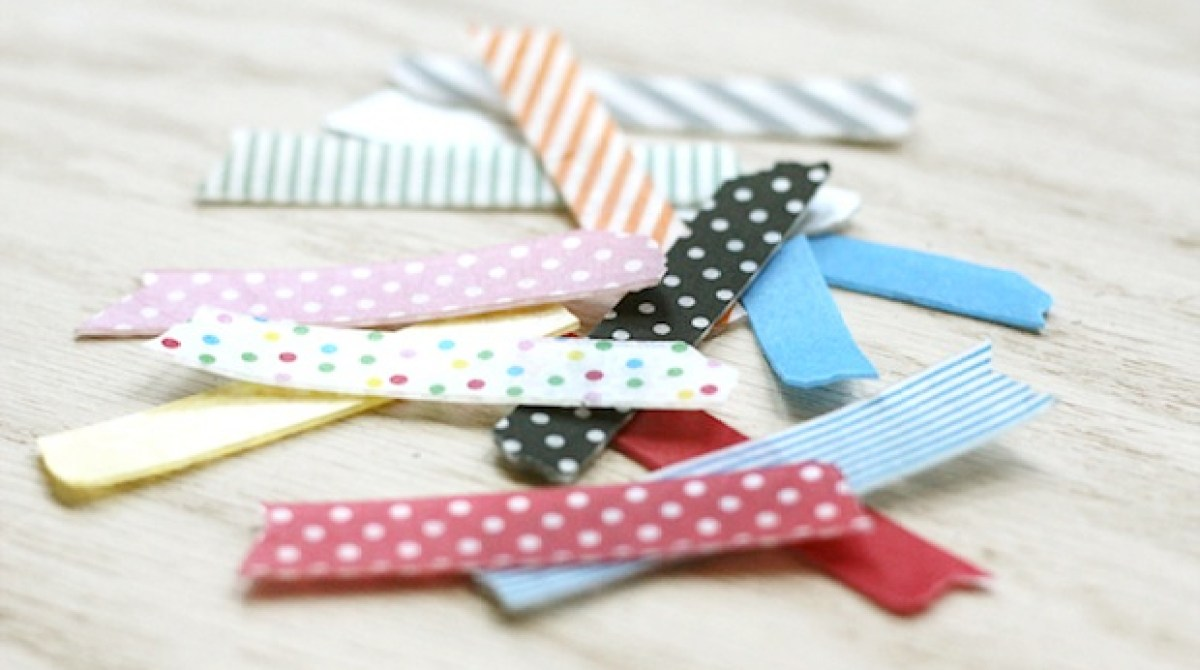 How-To: Reusable Washi Tape