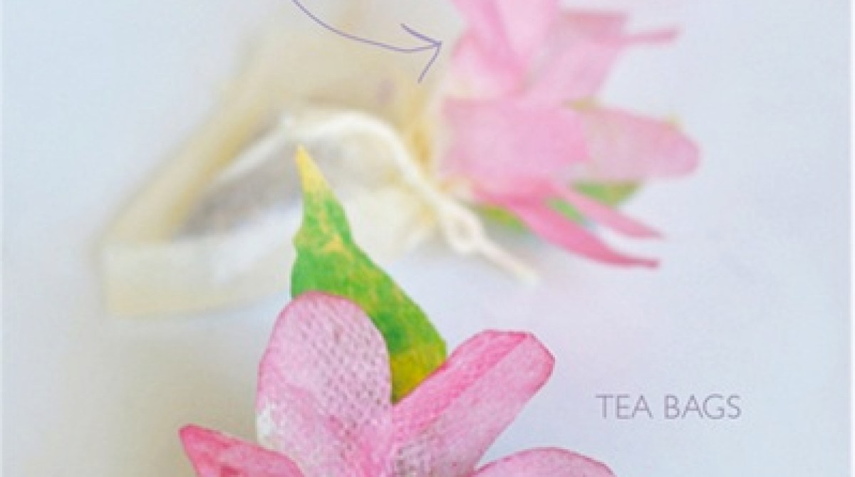How-To: Flower Tea Bags