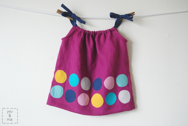 How-To: Kids Polka Dot Pillowcase Tank Top