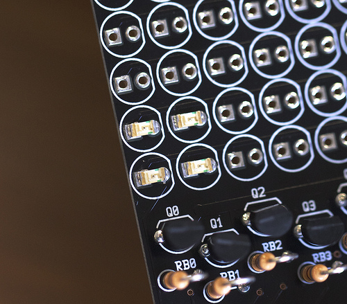 Soldering Surface Mount LEDs on a Through-Hole PCB