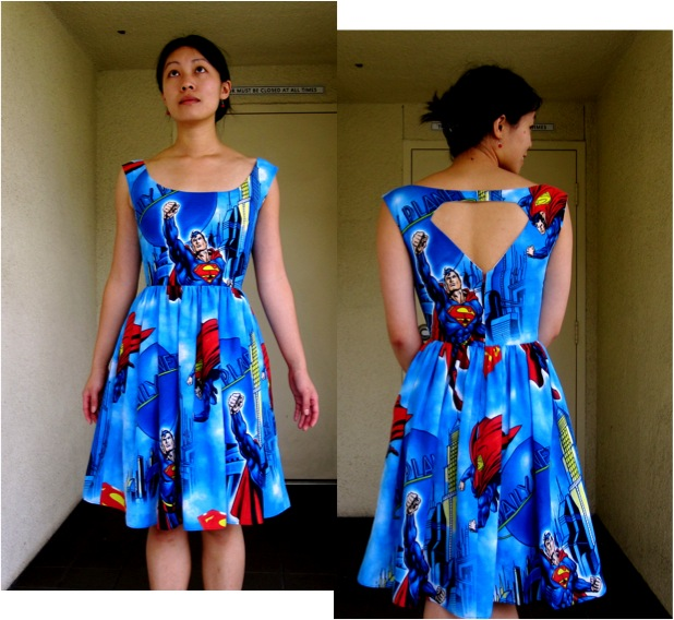 Geek Crafts: Superman Cutout Dress