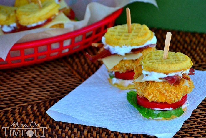 How-To: Chicken n' Waffles Sliders