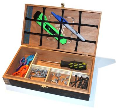 Toolbox news reviews and more make diy projects and for Quality craft tool box