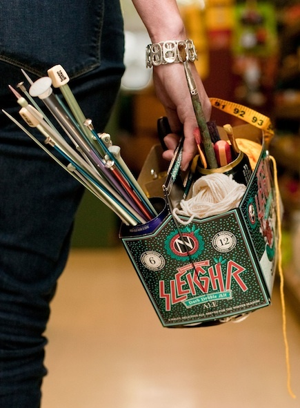 How-To: Six-Pack Craft Caddy