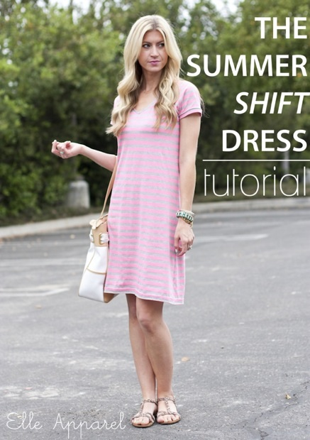 How-To: Summer Shift Dress