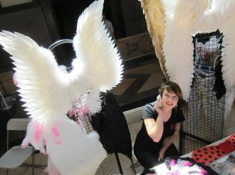 Amber always hankered after those Victoria's Secret wings—so she figured out how to make them!