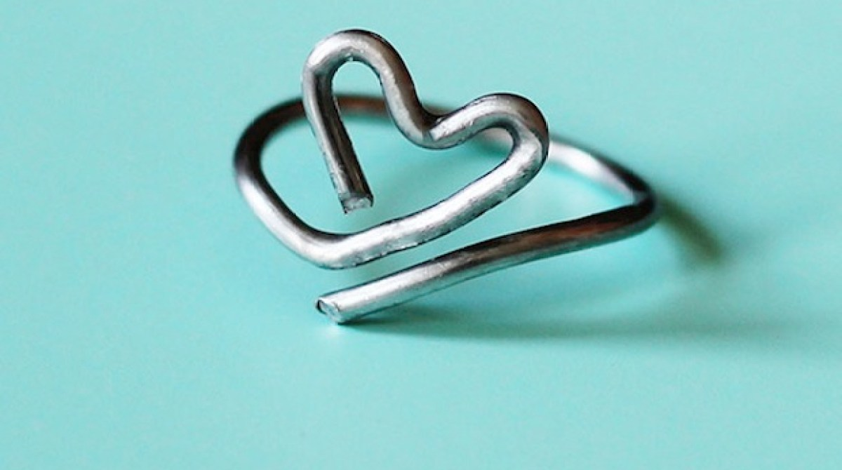 How-To: Wire Heart Ring