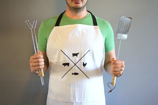 How-To: Manly Man Apron
