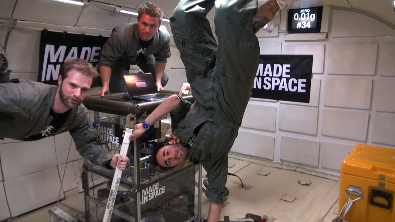 New Makers Building Parts for the Space Station