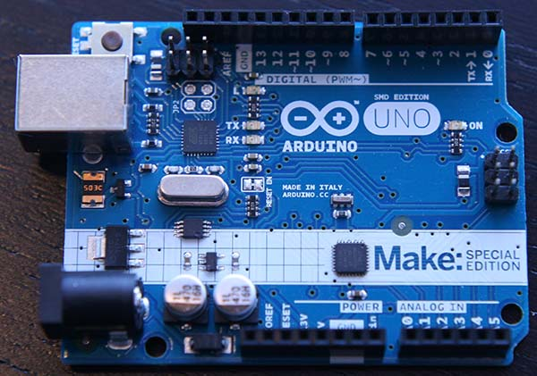 Maker Shed Exclusive: Make: Special Edition Arduino Unos!
