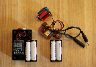 XBee remote relay as photobooth RF camera trigger.