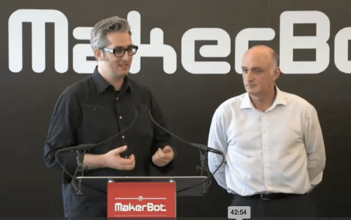 MakerBot/Stratasys Merger: What do you Think?