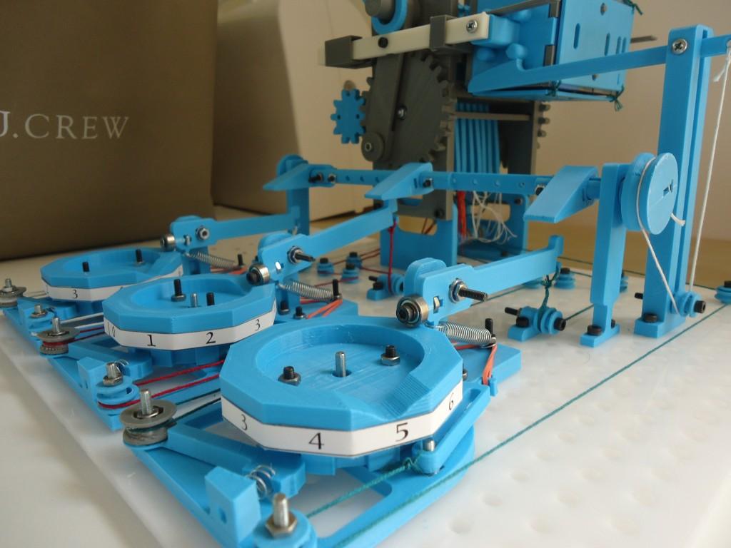 The Turbo Entabulator: A 3D-Printed Mechanical Computer