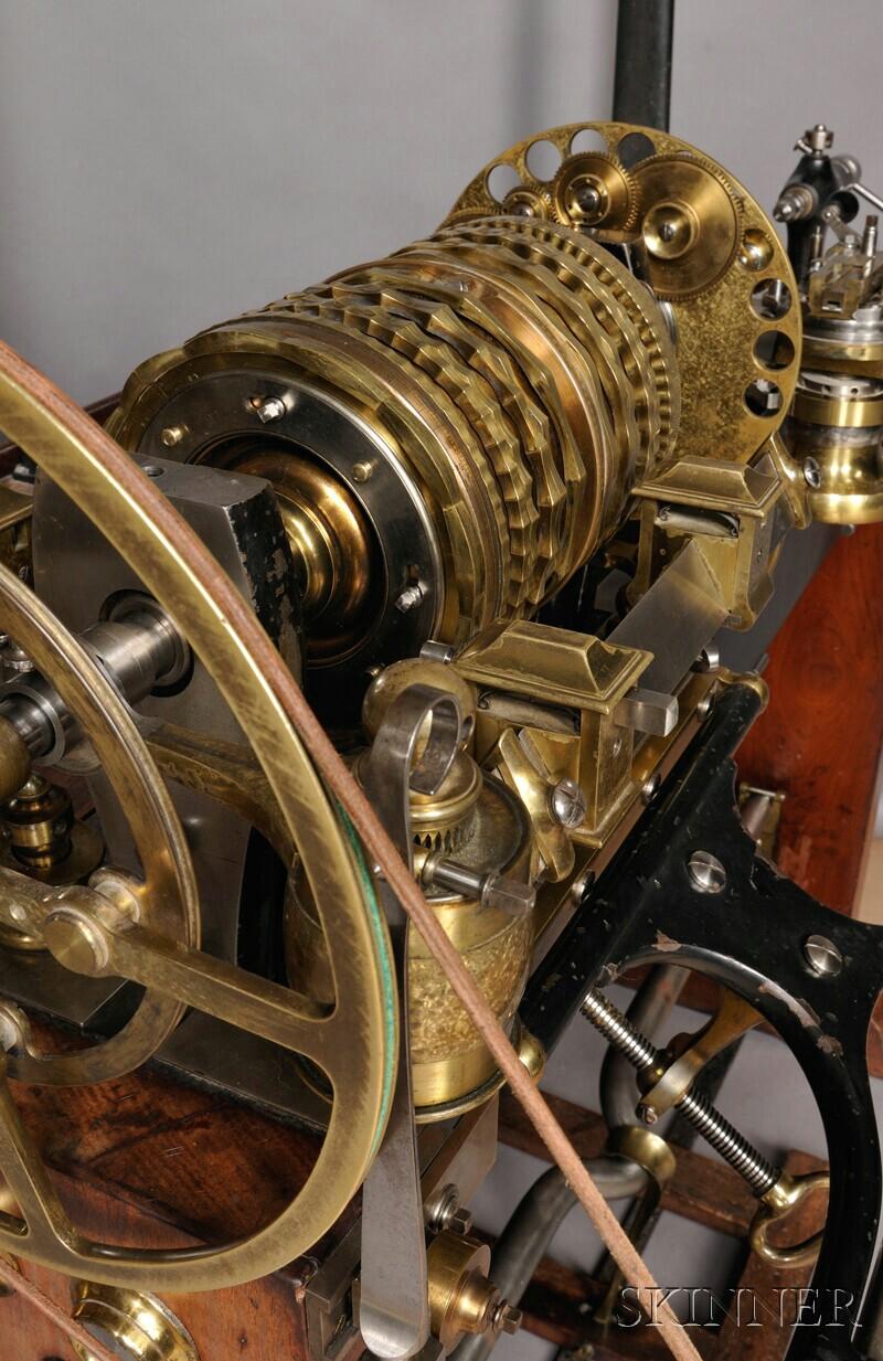 "Pristine 1838 ""Rose Engine"" Lathe"