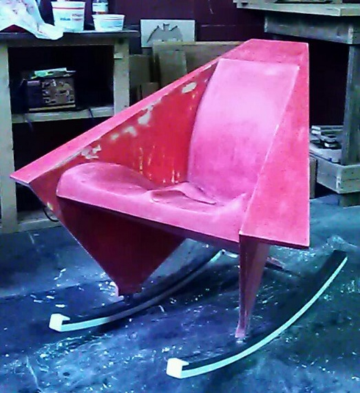 Re-Creating Wright's Origami Chair