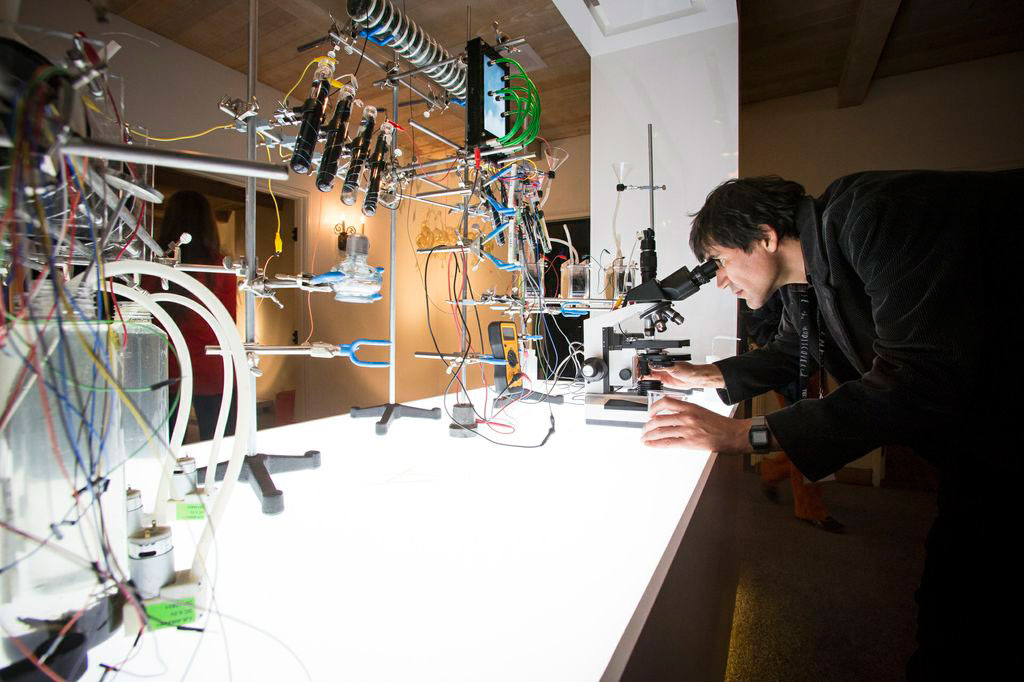 Circuit Bending Bacteria with the Fuel Cell Symphony