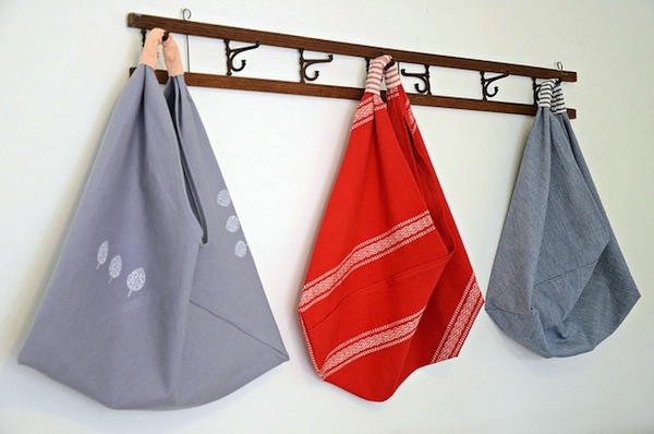 How-To: Origami Market Bag