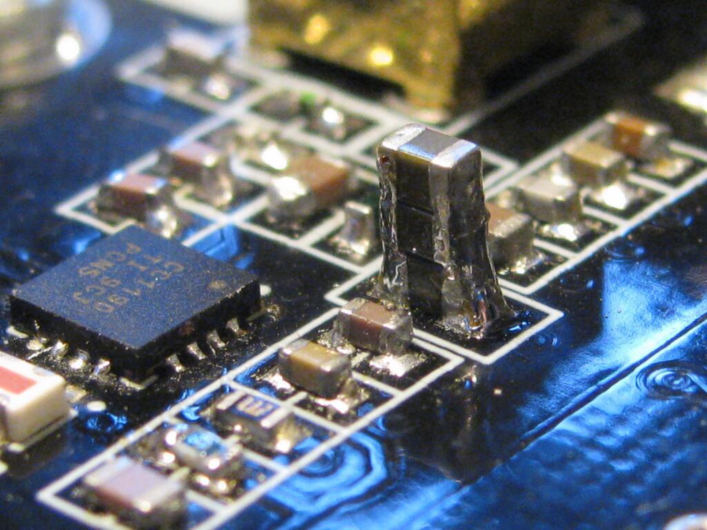 SMD Capacitance Hack