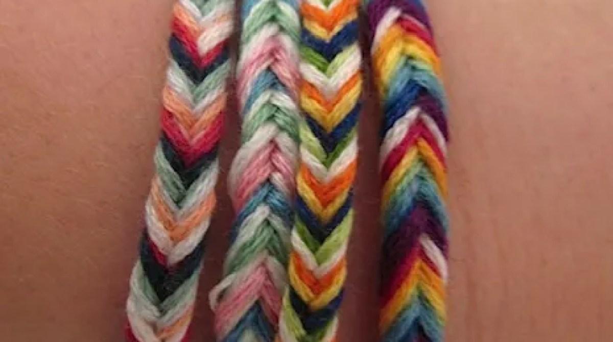 How To Fishtail Braided Friendship Bracelets Make